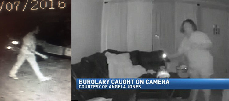 Hurricane Matthew: Security Cameras Catch Burglars