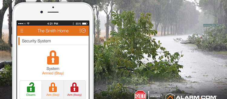 Weather Emergency: How a Security System Provides Peace of Mind