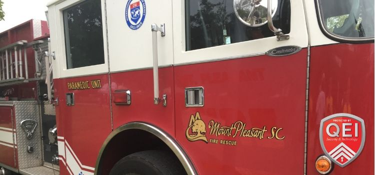 QEI Matches Donations for Mt. Pleasant Fire Department